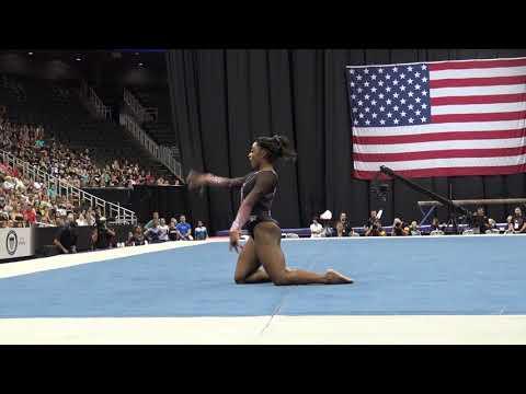 Simone Biles – Floor Exercise – 2019 U.S. Gymnastics Championships – Senior Women Day 2