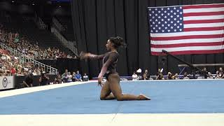 Simone Biles - Floor Exercise - 2019 U.S. Gymnastics Championships - Senior Women Day 2