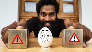 MONSTER MAGNET VS EGG | POWERFUL MONSTER MAGNETS MEET | ഇടയിൽപ്പെട്ട മുട്ട | M4 TECH |