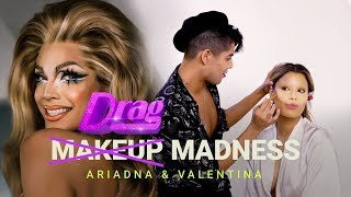 ¡Valentina de RuPaul's Drag Race transforma a Ariadna Gutiérrez en Drag Queen 😱! (English Subs)