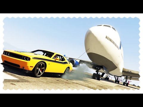 WINCH MOD (Tow a Plane With a Flying Car!) | GTA 5 PC Mods