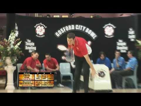 Interbowl State of Origin 2011 Match 6 Brandon Qualischefski (QLD) V Jarrod Lean (NSW)
