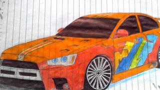 Desenhos de carros tunados - 2º edition