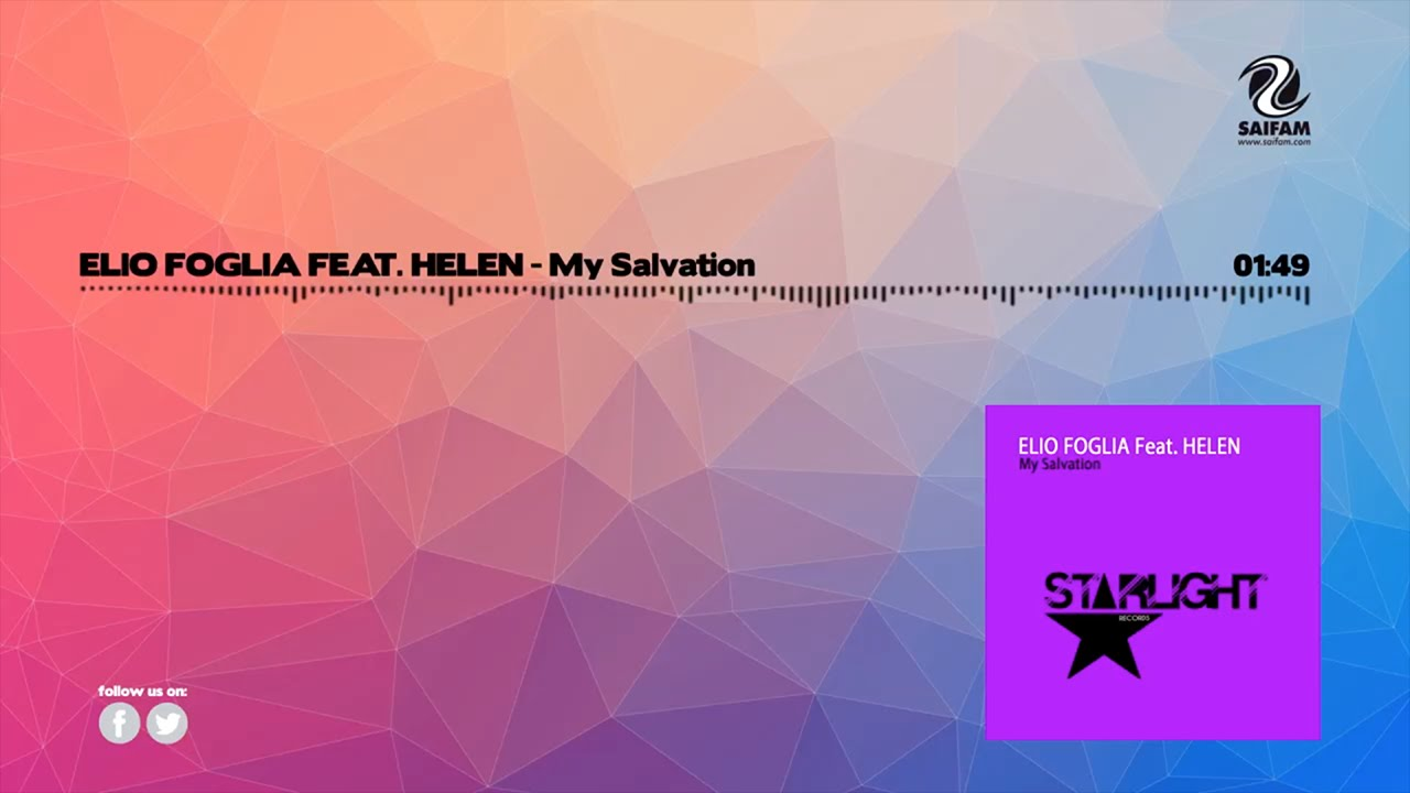 Elio Foglia Feat. Helen - My Salvation