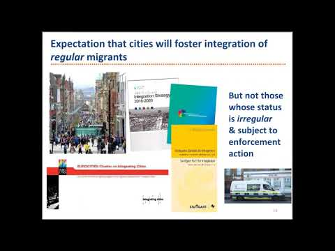 Webinar: Inclusion of Migrants with Irregular Status: a Role for Cities