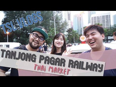 Thai Market At An Abandoned Railway Station?!   TSL Vlogs
