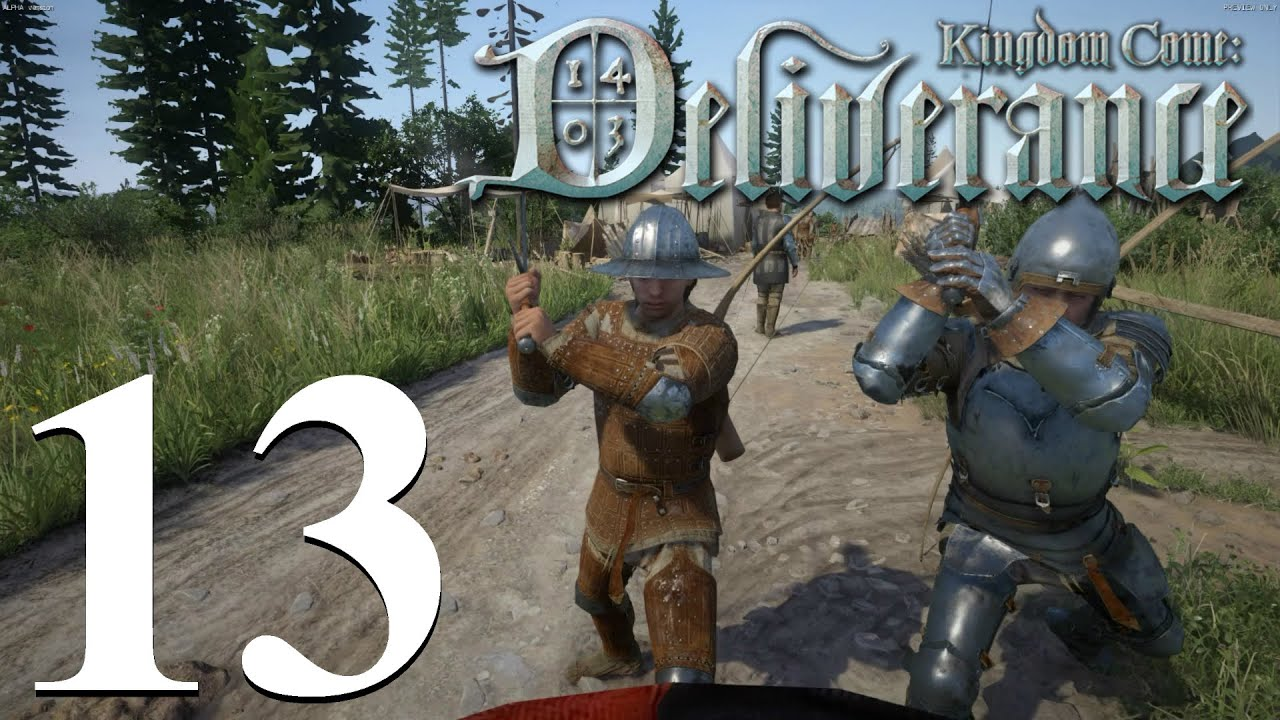 Let's Play Kingdom Come: Deliverance - Ep13 - The Battle ...