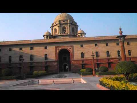 Rashtrapati Bhavan Full HD Video