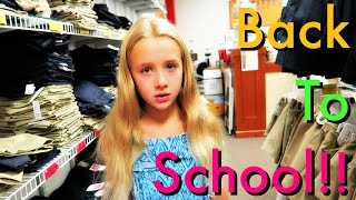 Back to School Shopping!! - School Uniforms!! - Life in Colorado!!