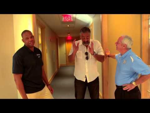 Watch Rick Fox tour his alma mater North Carolina Tar Heels with Hubert Davis and Roy Mp3