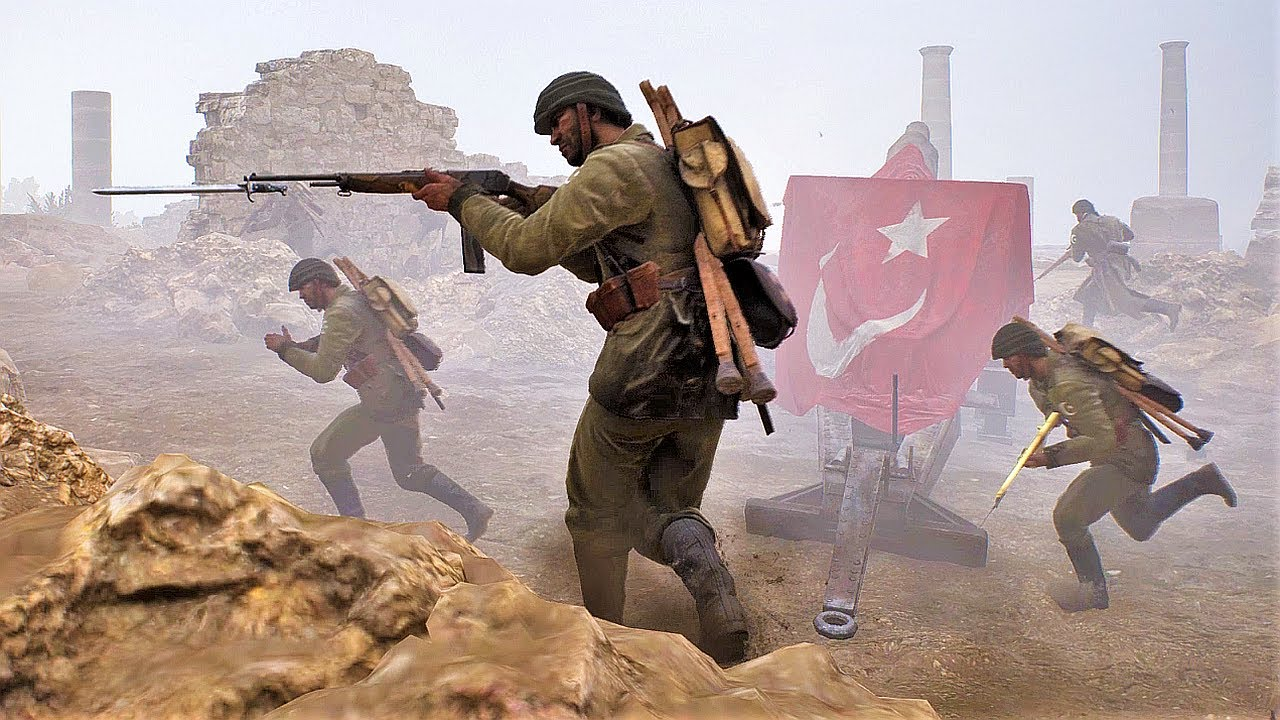 BATTLEFIELD 1 MULTIPLAYER Wars 3 (British Empire vs Ottoman Empire)