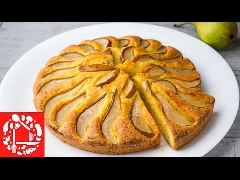 Пирог с грушей рецепты с фото самый простой в приготовлении в мультиварке