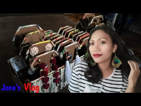 DIY EARRINGS ORGANIZER / BEST OUT OF WASTE / JEWELRY ORGANIZER / FILIPINA-RUSSIAN FAMILY