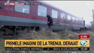 Care este starea persoanei rănite în urma incidentului feroviar din județul Hunedoara