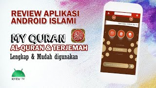 Review Aplikasi Android Islami || My Qur'an - Alquran & terjemah screenshot 4