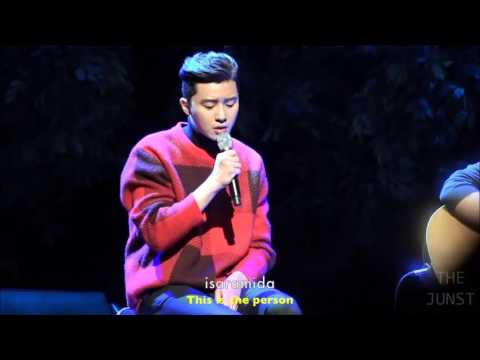 [ENG SUB] 151213 Park Seo Joon - Come into My Heart [LIVE Performance Fanmeet]