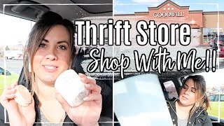 SPEND THE DAY WITH ME 2020 :: THRIFT SHOPPING FOR BEDROOM MAKEOVER :: This Crazy Life Vlog