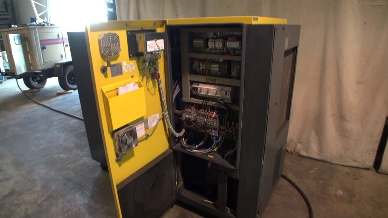 kaeser sigma rotary screw air compressor air dryer package dcm 2862 [ 1280 x 720 Pixel ]