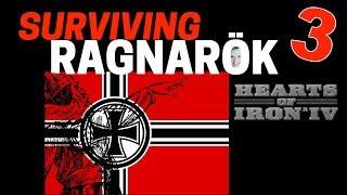 Hearts of Iron 4 - Challenge Survive Ragnarok! - Germany VS World  - Part 3