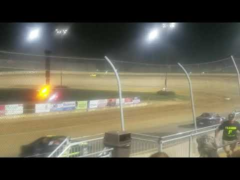 Lawrenceburg speedway hornet feature race 9-14-19