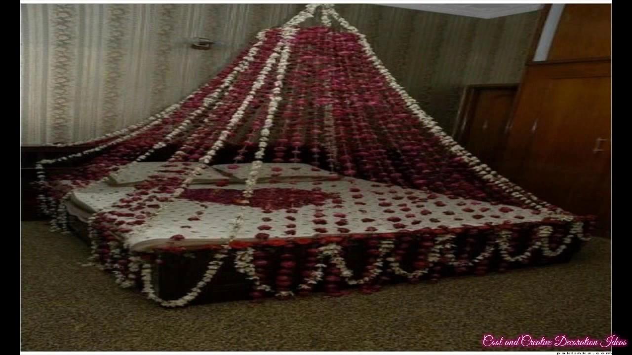 Bedroom decoration for wedding night - Bedroom Decoration For Wedding Night