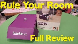 LittleBits Rule Your Room Kit Review, Can I Steal a Chocolate Bar From My Kid