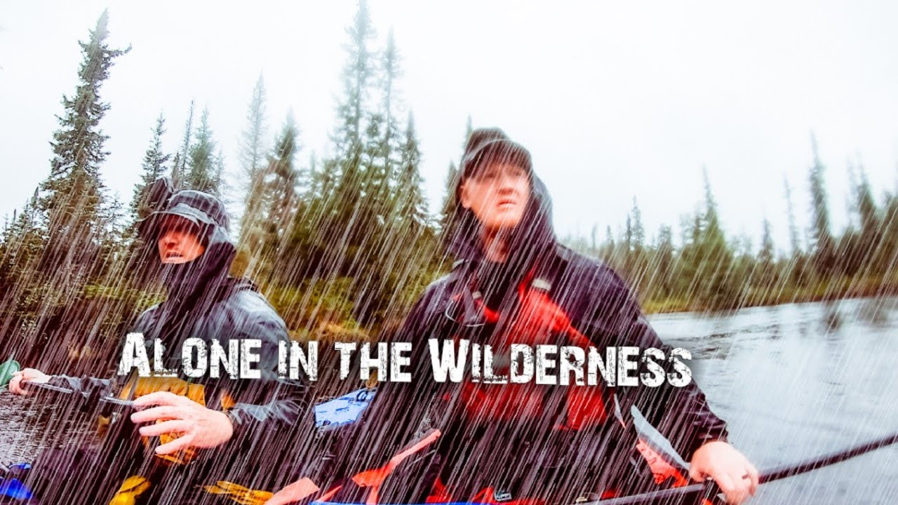 Two Brothers Alone in The Wildermess Ep 1 - Escaping the city - Heavy Rain on the River