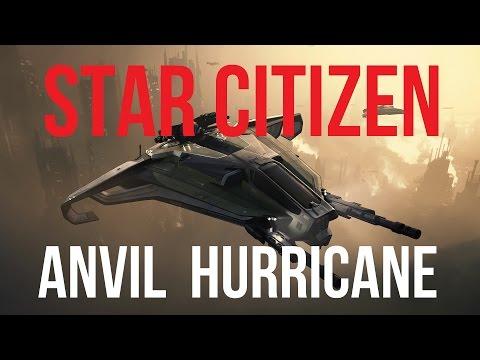 Star Citizen   ANVIL Hurricane Concept Sale Guide