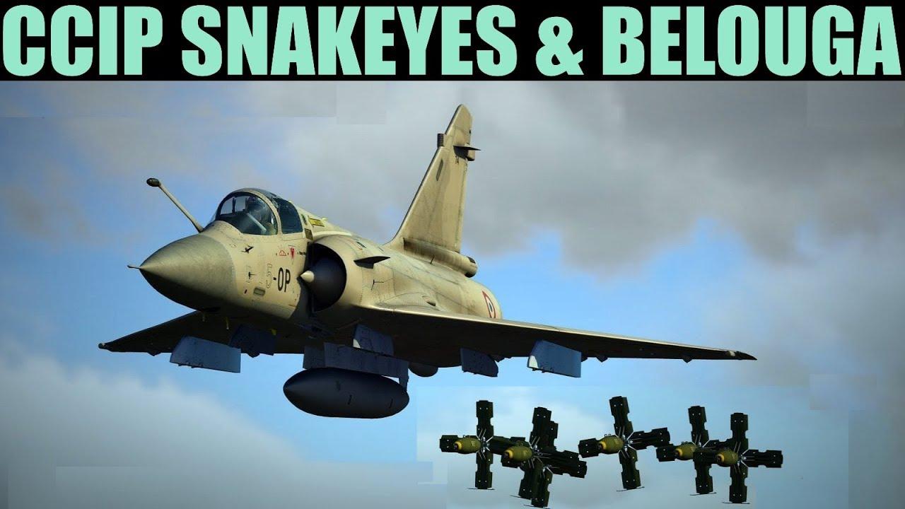 Mirage 2000C: CCIP Snakeye(ripple & single) & Belouga