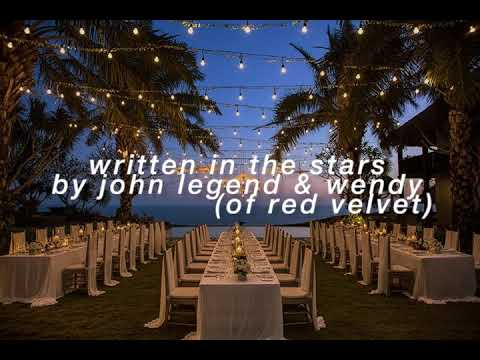 """written In The Stars"" - John Legend & Wendy But They're Singers At A Beach Wedding Under The Stars"