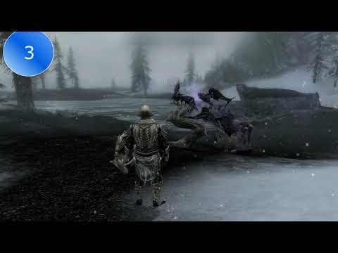 Все крики в игре The Elder Scrolls V-Skyrim. Часть 1