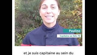 3 questions à Pauline, nouvelle capitaine au Sdis 76