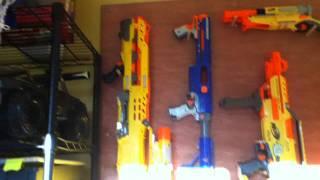 Adz Nerf Gun Rack