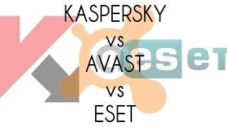 Kaspersky vs Avast vs ESET Detection test