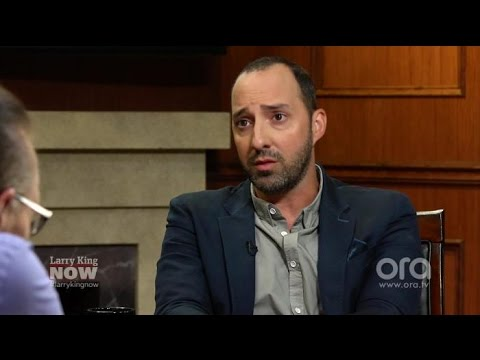 Tony Hale: I Respect Armando Iannucci's Decision to Leave Veep | Larry King Now | Ora.TV