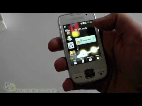 Samsung S5600 Preston unboxing video