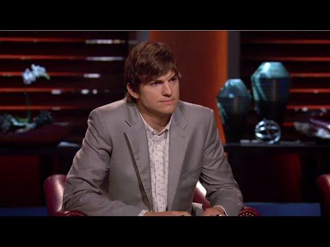 Ashton Kutcher & Slyde Handboards - Shark Tank