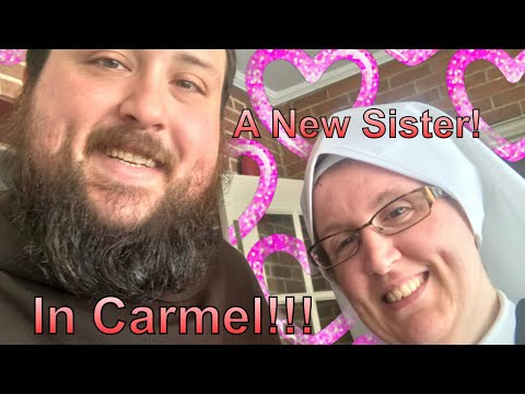 A New Sister in the Catholic Church! A Taste of Joy for You!