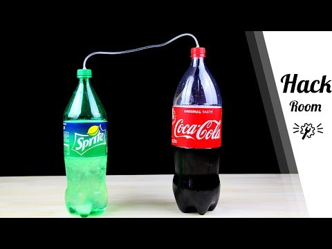 Simple Tricks to ReCarbonate Coca Cola or Any Soda Drink in 5 Mins | by Hack Room