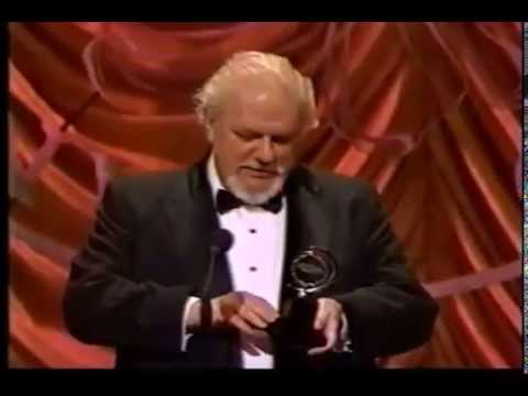 Charles Durning wins 1990 Tony Award for Best Featured Actor in a Play