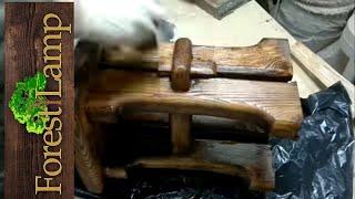НЕПРИЛИЧНЫЙ ТАБУРЕТ СВОИМИ РУКАМИ под старину КАК СДЕЛАТЬ ТАБУРЕТ.-DIY -I Like To Make Stuffl
