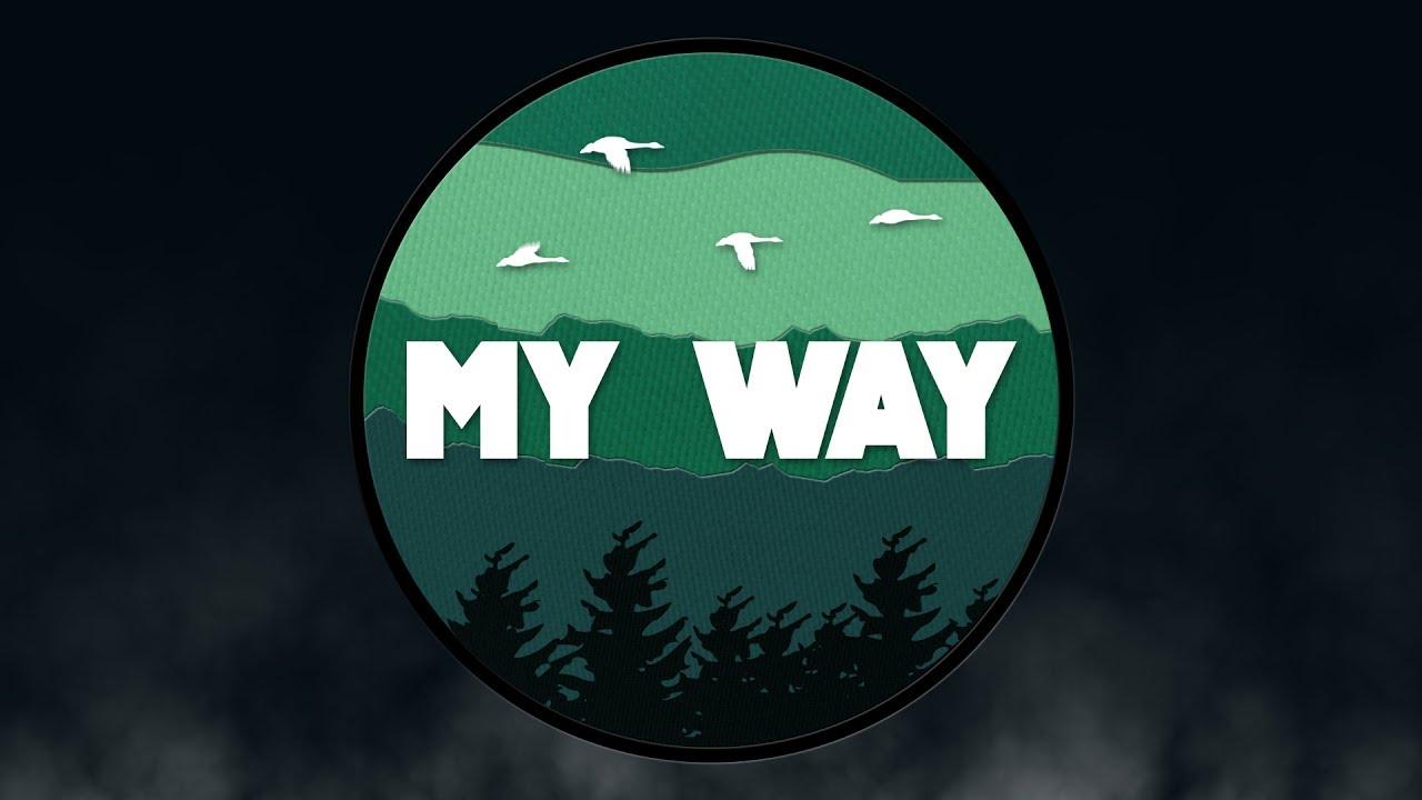 MY WAY - Calvin Harris (Kinetic Typography)