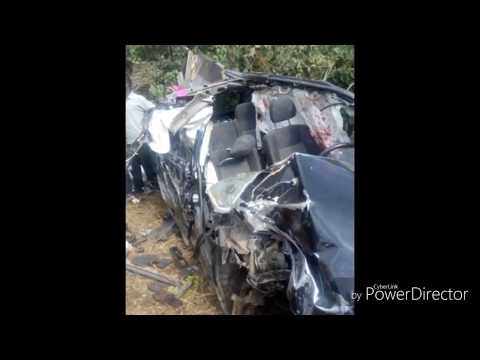The state of the car Ebony Reign had crash with.