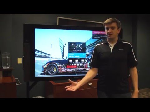 Microsoft Surface Hub Collaboration Features