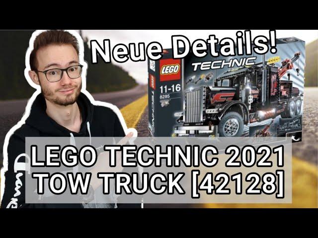 LEGO® Technic 42128 Abschleppwagen/Tow Truck - NEUE DETAILS! [Sommer 2021]