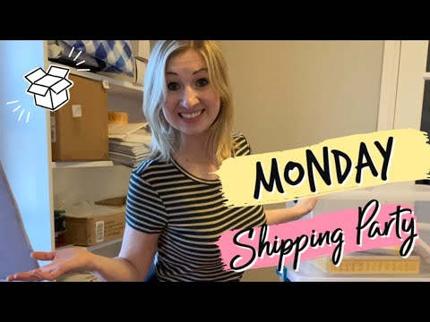 Monday Live Ebay Shipping Party + TV Commercial & Chit Chat