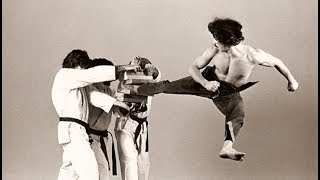 Grand Master Hee ll Cho demo in 1988 World Taekwondo Championships
