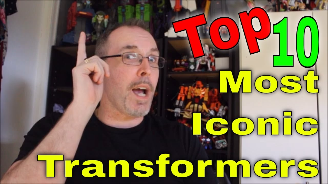 GotBot Counts Down: Top 10 MOST Iconic Transformers Characters