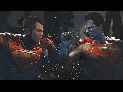 Injustice 2: Superman Vs Bizarro | All Intro/Interaction Dialogues & Clash Quotes + Super Moves