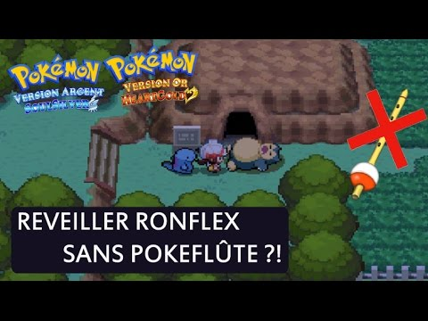 REVEILLER RONFLEX SANS POKEFLUTE ?!
